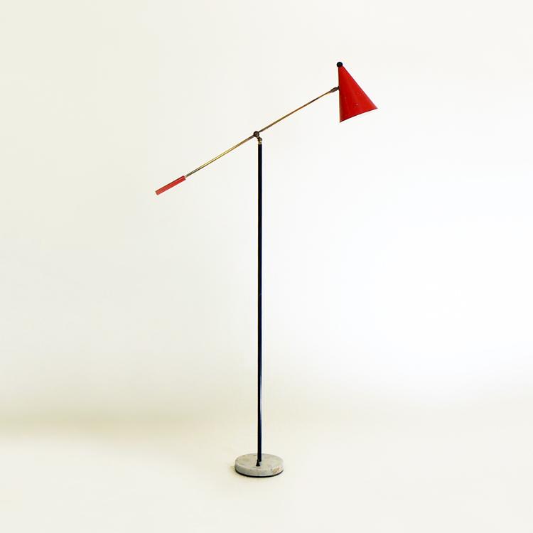 Lámpara italiana, años 50