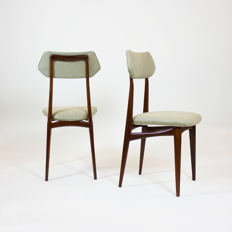 Conjunto de  sillas estilo Gio Ponti