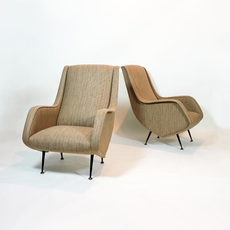 sill n italiano estilo marco zanuso On sillones diseno italiano