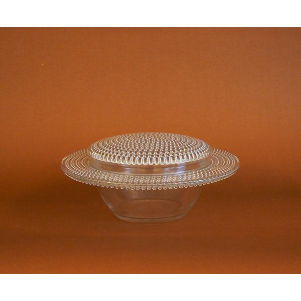 """Centro de cristal con tapa ."""" NIPPON"""". R. Lalique"""