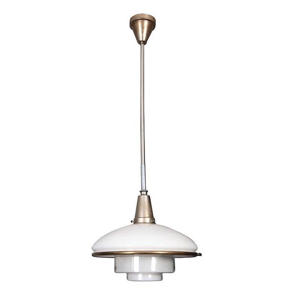 Lámpara de techo de Otto Muller. Alemania años 30