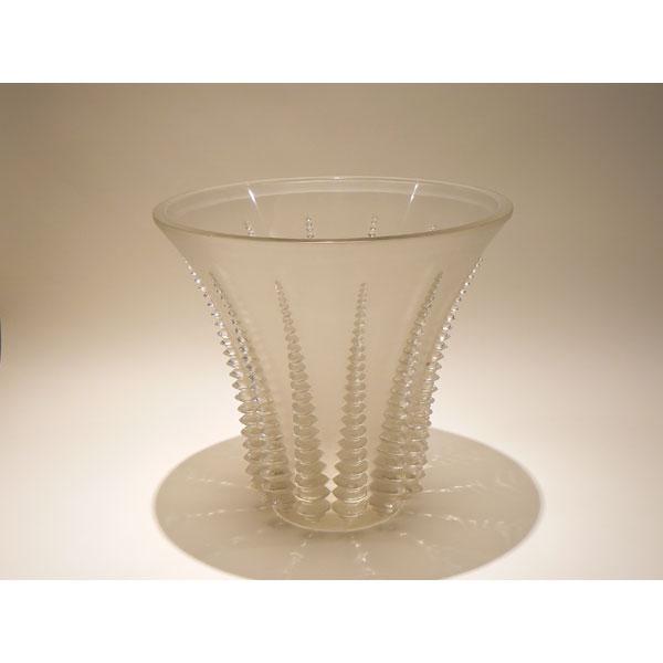 Jarrón  Lalique . Modelo Font Romeu