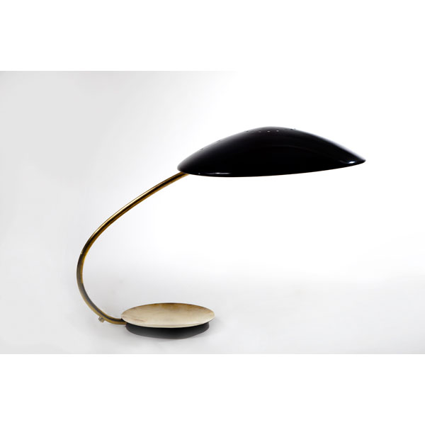 Lámpara de despacho de Christian Dhell. Inglaterra. Años 50