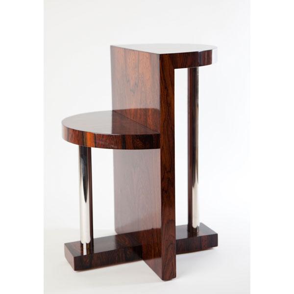 Mesa auxiliar art dec tiempos modernos - Mesas auxiliares modernas ...