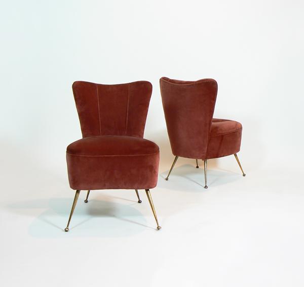 Pareja de sillones italianos