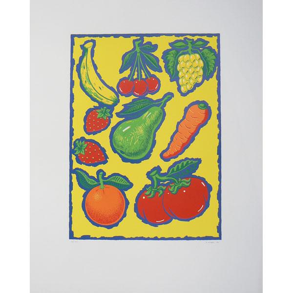 """Alfredo Alcaín  """"Frutas"""""""