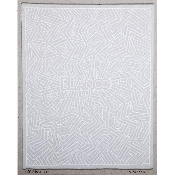 """Alfredo Alcaín """"Blanco Sobre Blanco"""""""