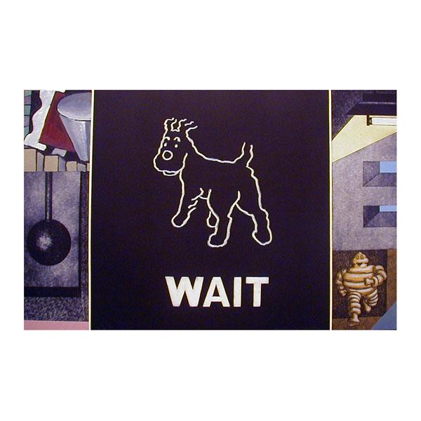 """Fernando Bellver """"Wait , Instrucciones para Perros"""""""