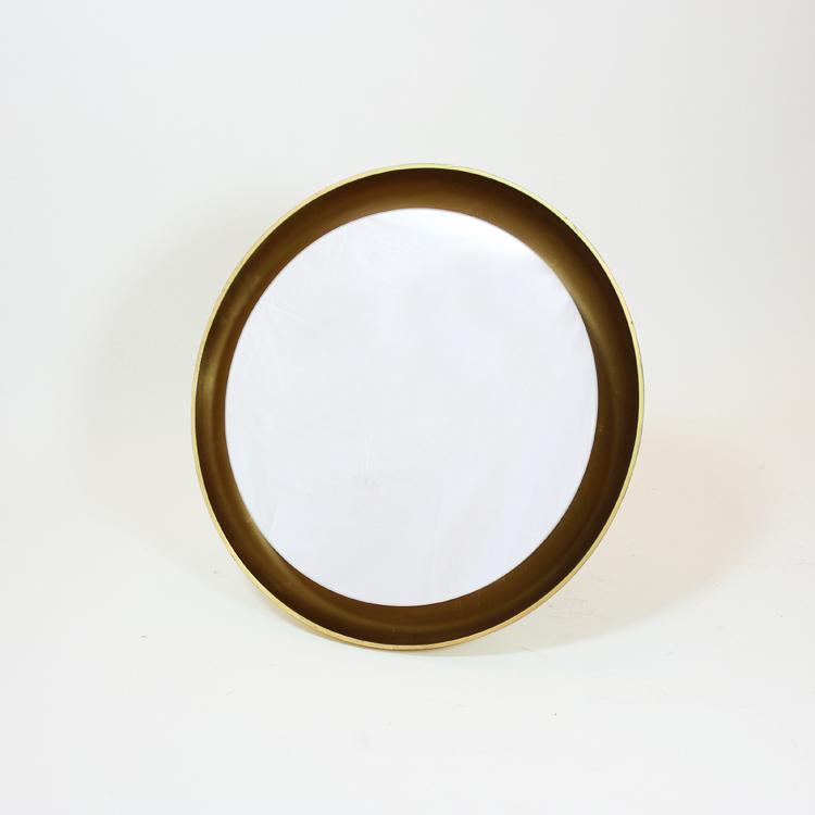 Espejo circular retroiluminado tiempos modernos for Espejo circular
