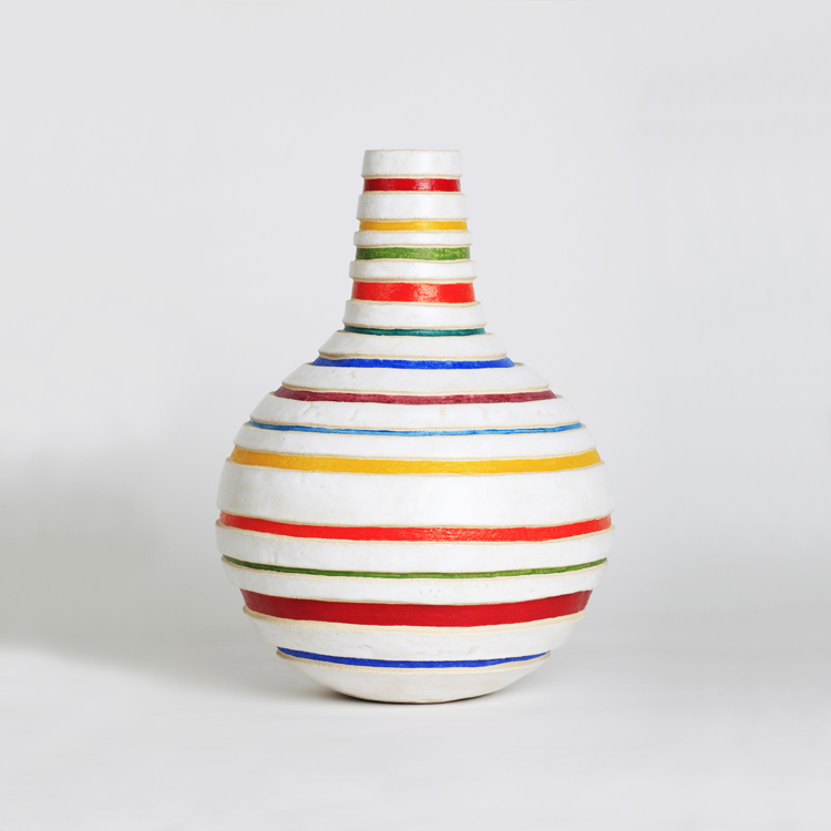 Francisco Gálvez. Jarrón de cerámica refractaria.