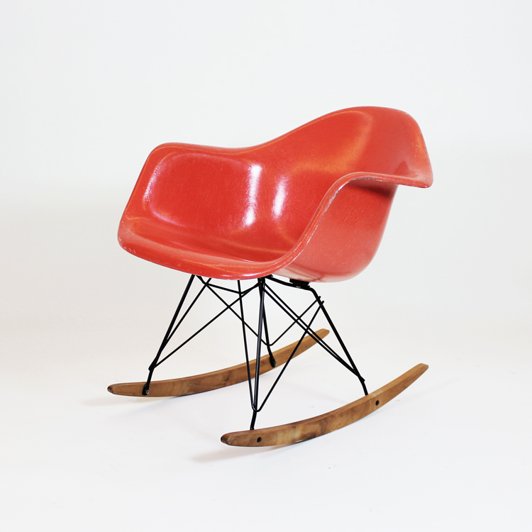 Rocking armchair rod. Charles & Ray Eames