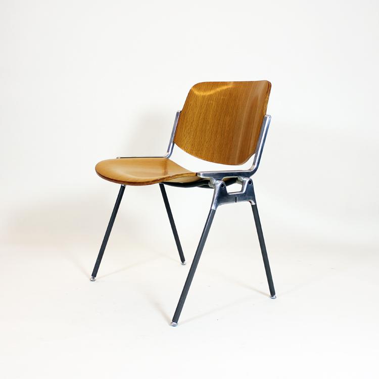Juego de ocho sillas Castelli