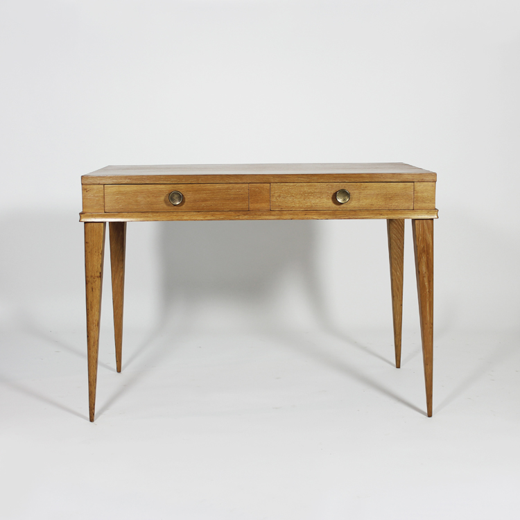 Mesa escritorio de roble, hacia 1950