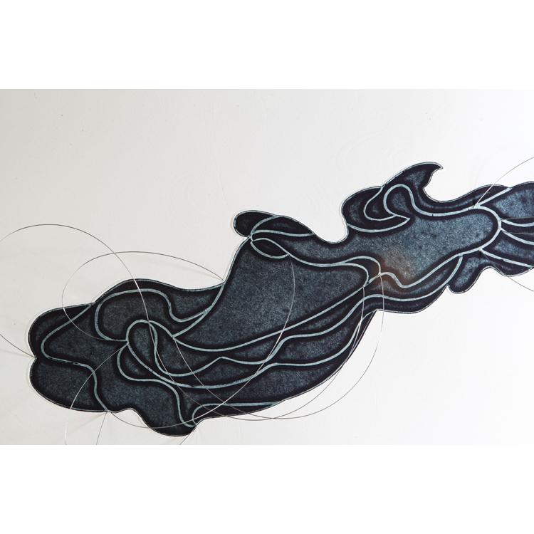 """Blanca Muñoz """"Fluvial III """"2012"""