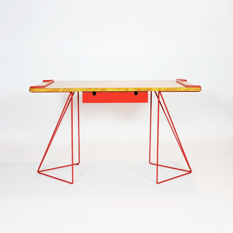 Mesa escritorio años 80