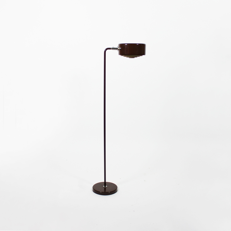 Lámpara flexo de suelo. Suecia h.1970