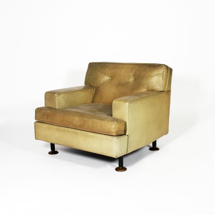 Pareja de sillones Arflex, 70s