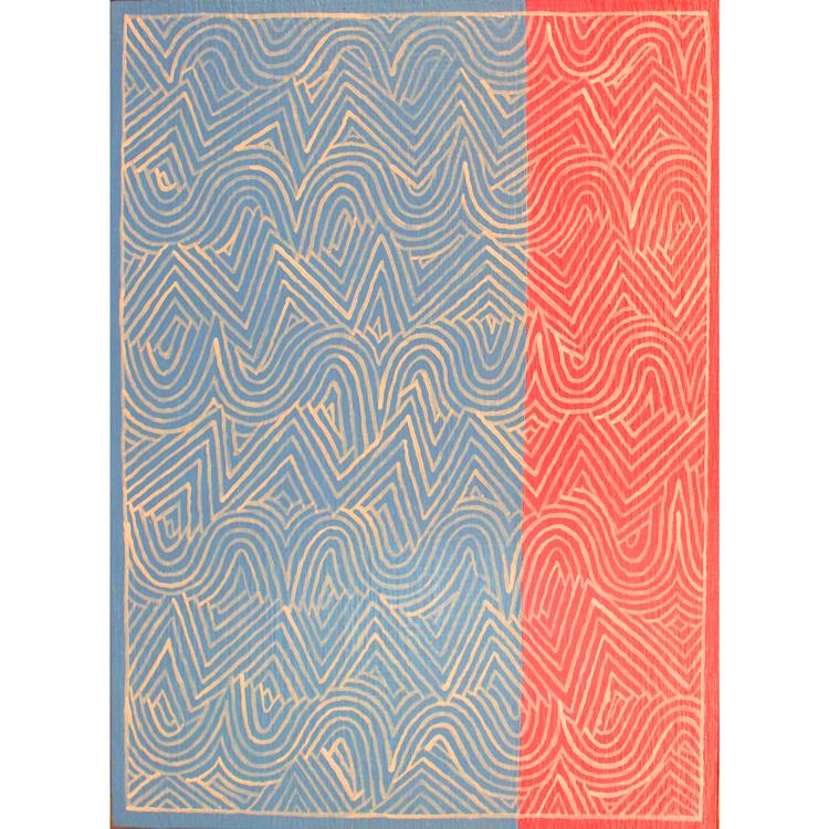 """Alfredo Alcain, """"Rectas y curvas"""", 2012"""