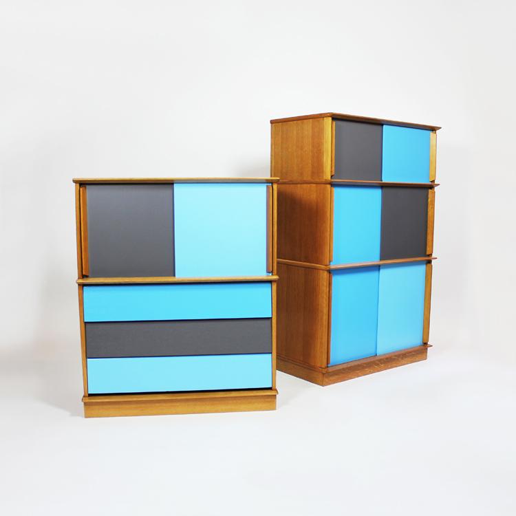 Muebles auxiliares. Francia, años 50