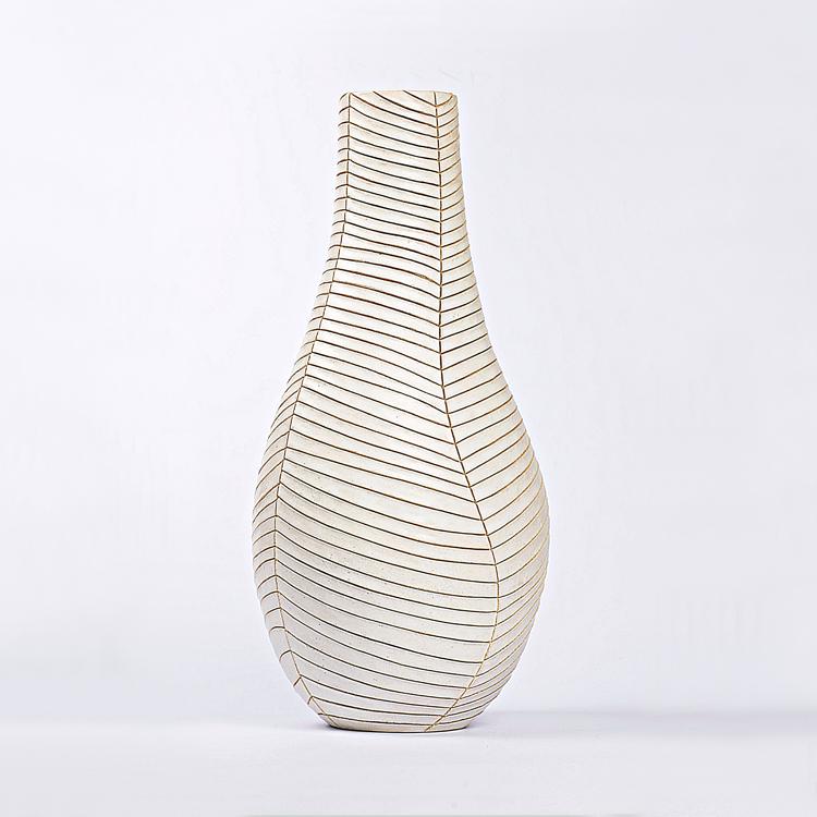 Francisco Gávez. Jarrón de cerámica refractaria, colección 2015
