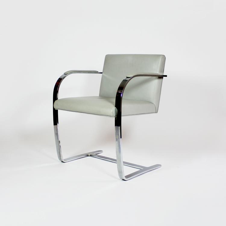 Conjunto de seis sillas de Mies van der Rohe, modelo Brno , diseño de 1929