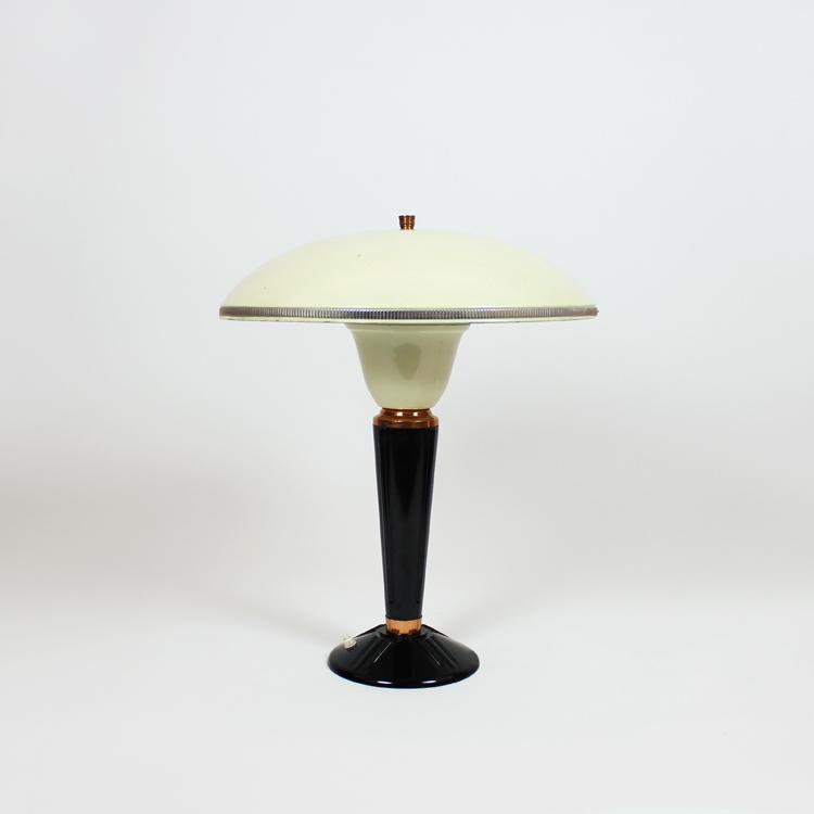 Lámpara de mesa Art Dèco, años 40