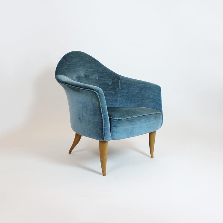 Butaca de Kerstin Horlin-Holmquist, Suecia, años 50