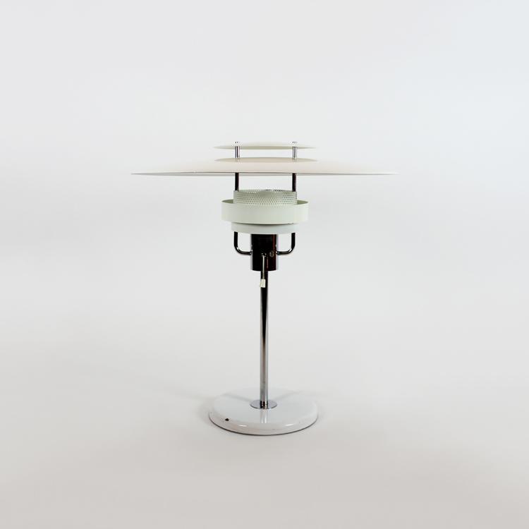 Lámpara de mesa estilo Poulsen, Suecia, años 60