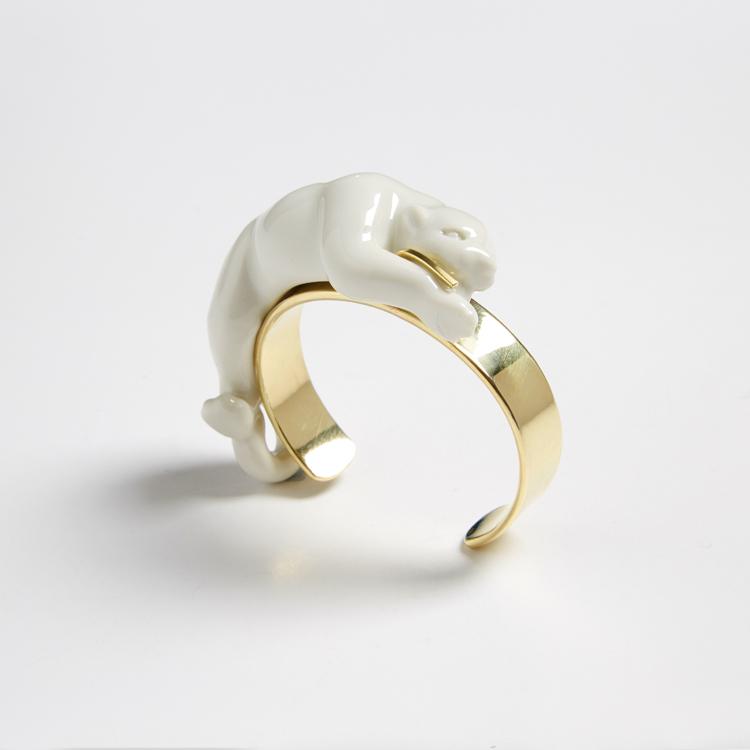Panther bracelet. Andres Gallardo