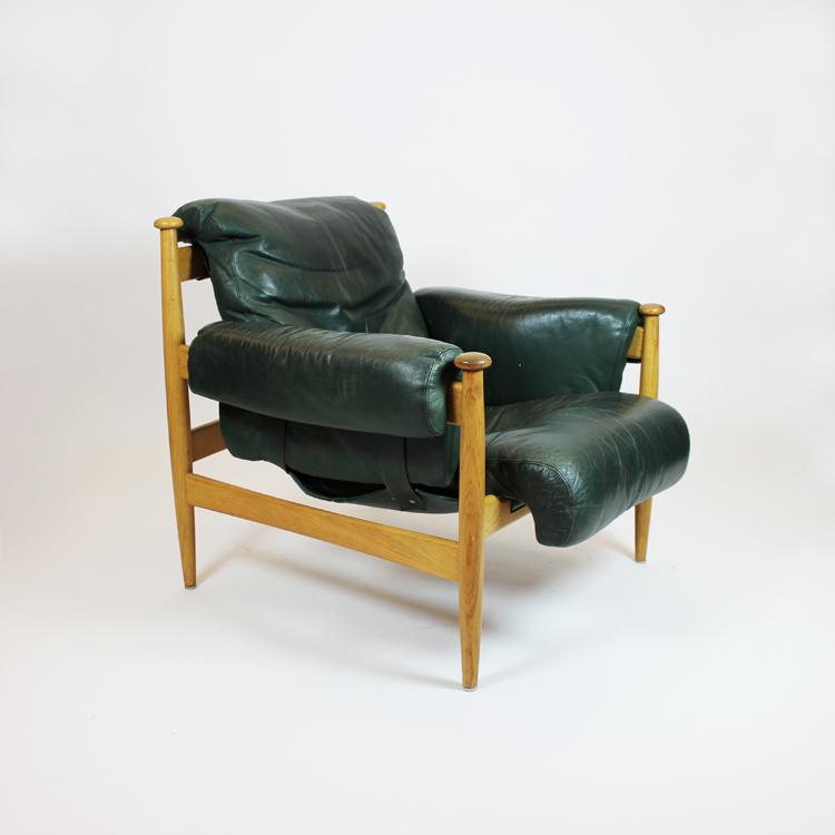 Sillón diseño de Arne Norell. Dinamarca, 1950