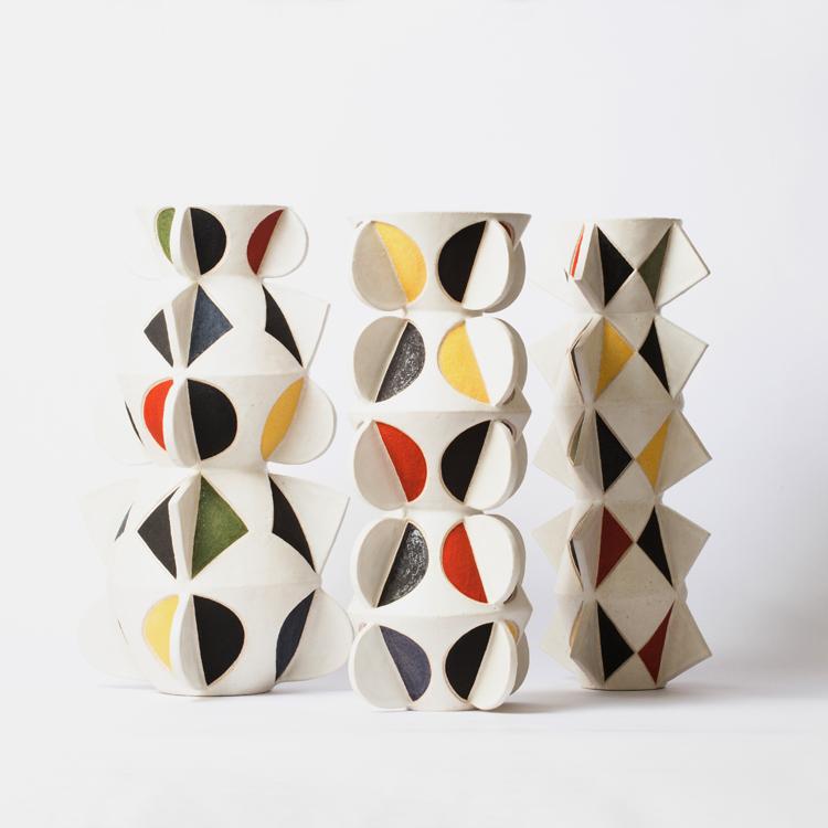 Espacial, la colección nueva de cerámica de Francisco Gálvez