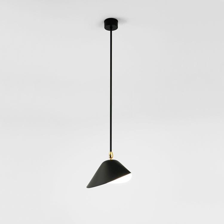 "Lámpara de techo de Serge Mouille ""Bibliotheque"""