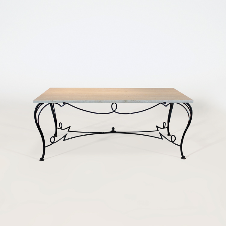Mesa-consola al estilo de Rene Drouet