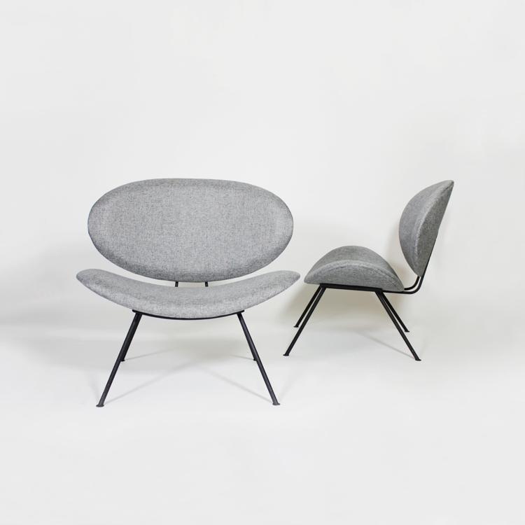 Pareja de sillones diseño de los años 60