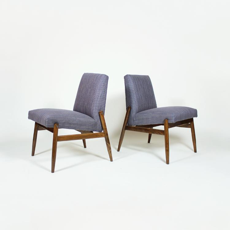 Pareja de sillas auxiliares de los años 50