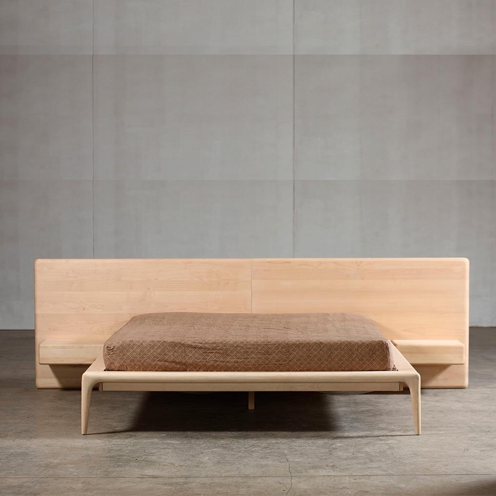 Cama Latus, en madera de máxima calidad para Artisan