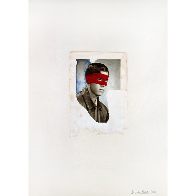 """Carmen Calvo.Dibujo sobre papel. Serie inspirada en los poemas de Francisco Brines. Exposición """"La perversión de la mirada"""", 2017"""