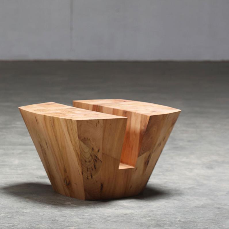Mesa cafe kart dise o moderno para artisan en madera de - Mesa madera diseno ...