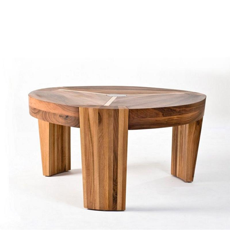 Mesa Cafe Termag, original diseño en distintos tipos de maderas, con excelentes acabados y producción artesanal en Europa.