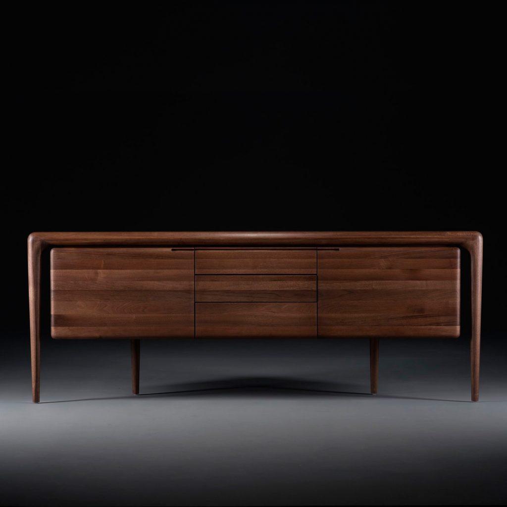 Aparador Latus, en madera , de diseño actual para Artisan