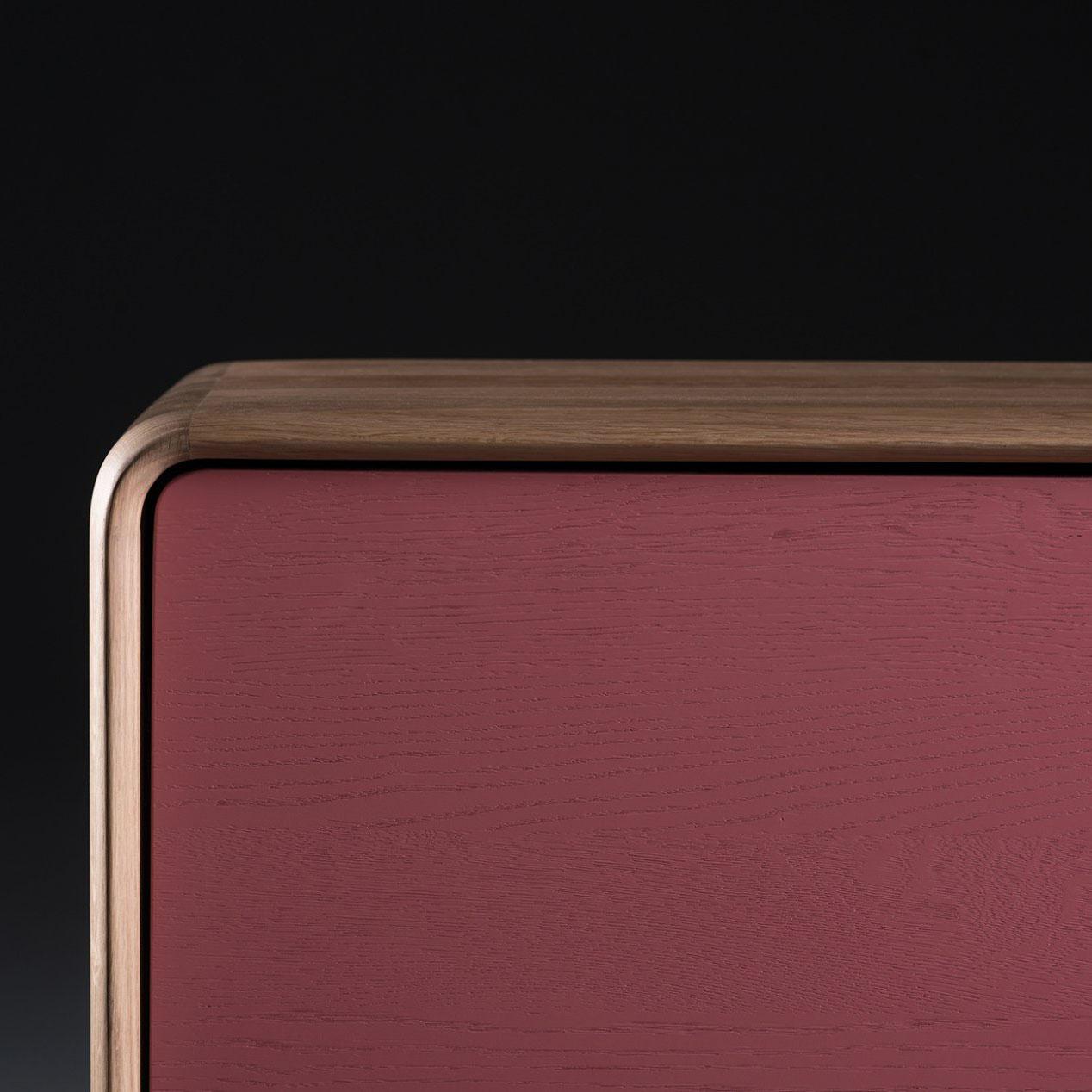 Aparador Neva 75, diseño actual en madera y producción artesana en Europa