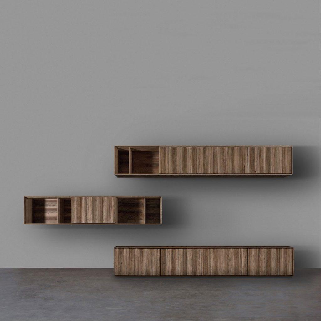 Mueble Modular Jantar en madera, diseño moderno de calidad y producción artesanal de Bosnia