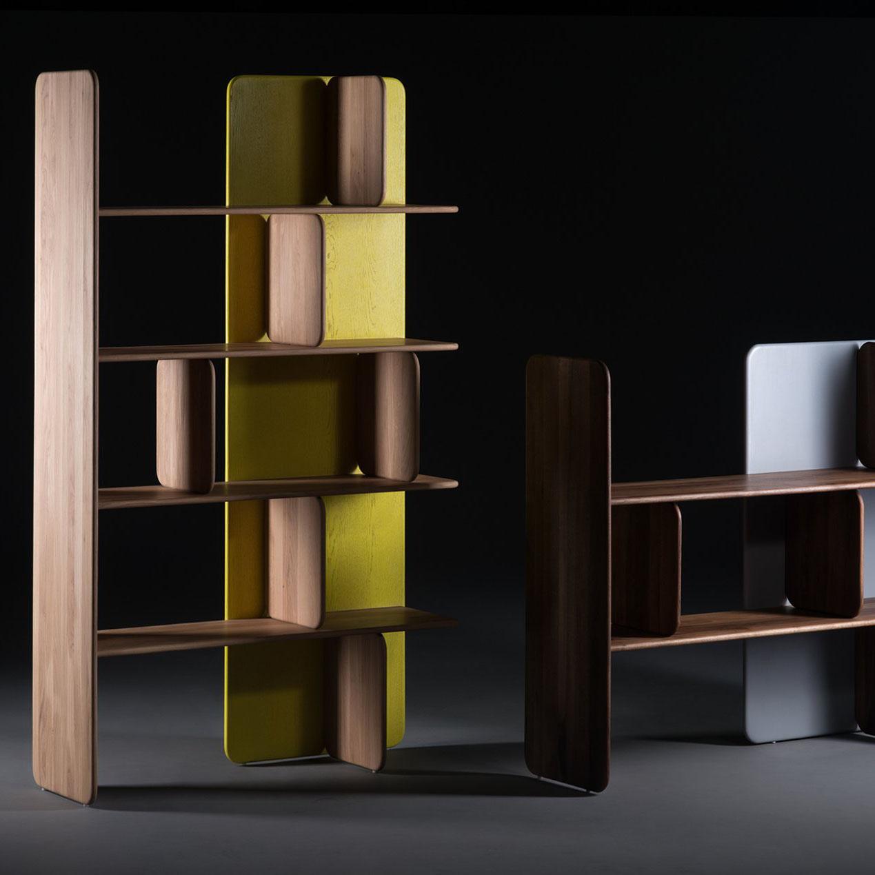 Mueble Modular Doft, diseño en madera, vanguardista y artesano
