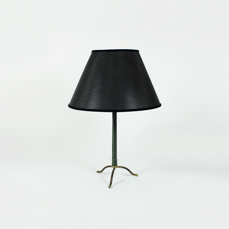 Lámpara de mesa de Jacques Adnet. Francia, años 60
