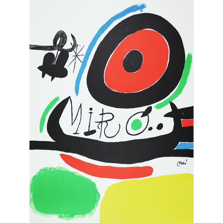 Oasaka. Joan Miró, 1970