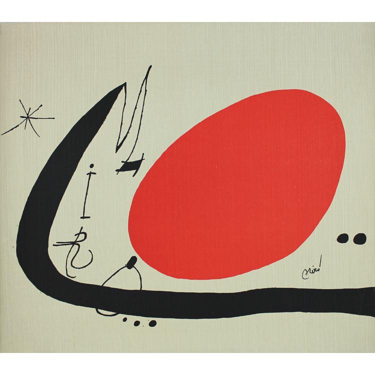 Joan Miró. Mà de proverbis, 1970