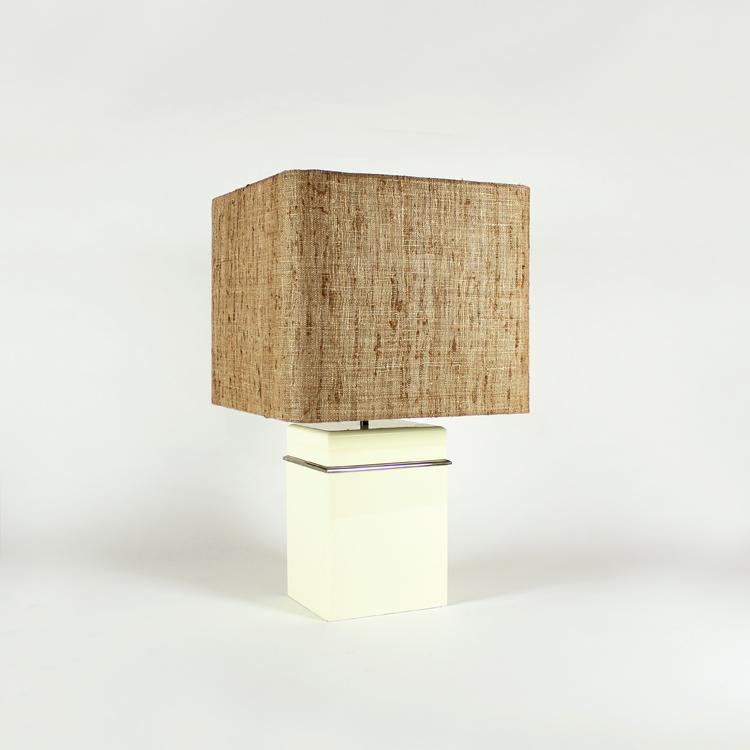 Lámpara de mesa de los años 80