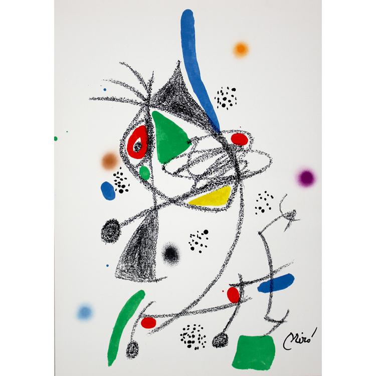 Maravillas con variaciones acrósticas, 1975. Joan Miró