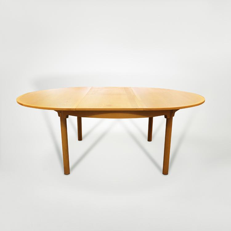 Mesa de comedor extensible de Borge Mogensen