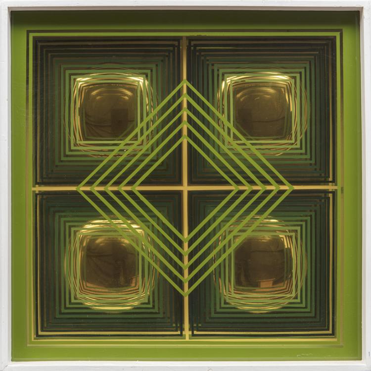 Espejo. Eduardo Sanz, 1971